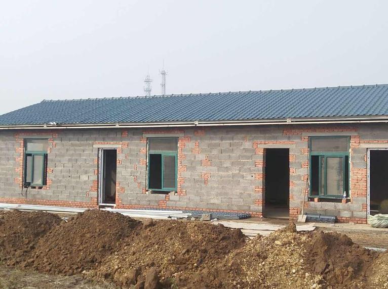 平改坡工程,农村屋面升级,合成树脂瓦